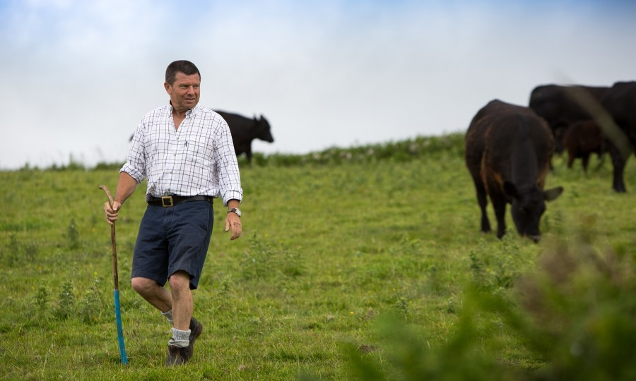 Mark Pilcher of Gear Farm in Cornwall